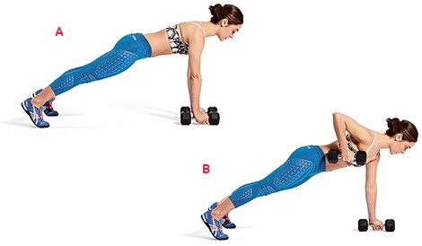 Планка упражнение фото